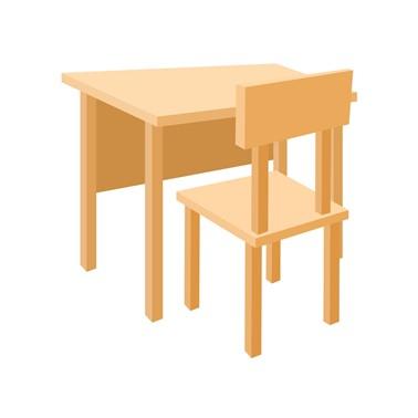 Meja Belajar Hutankayu Furniture